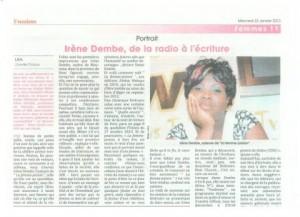 Irene Ndembe: une voix, une plume dans information publique irene-ndembe-300x217